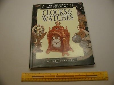 Book 340 – A Connoisseur's Guide to Antique Clocks & Watches