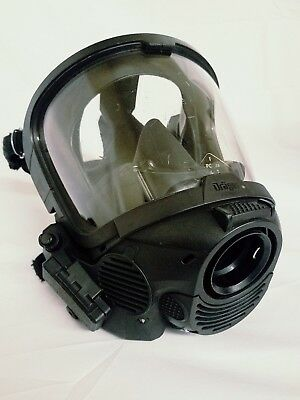 Dräger FPS7000 Drager sentinel SCBA Full Face Mask Medium with HUD and Voice Amp