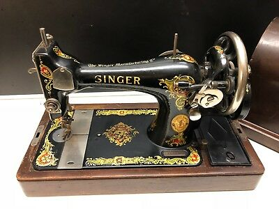 Singer Manufacturing Co Nähmaschine trade mark No 127-128 Sewing Machine