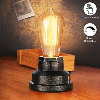 Touch Control Table Lamp Desk Lamp Small Touch Light Antique Night Light