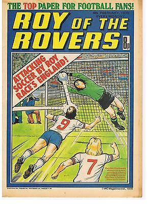 Buy Individual  Roy of the Rovers 1977/78/79 Comics  VGC+  See list