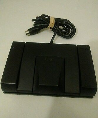 Sanyo Transcriber Doctor Transcription Foot Pedal Control FS-56 VGC!