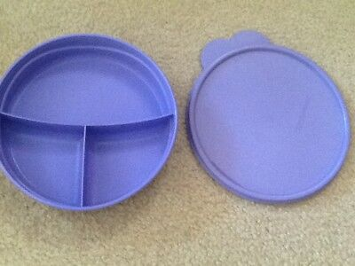 Tupperware Munchkids Microwave Divided Dish Bowl