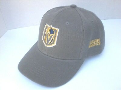 Las Vegas Golden Knights Curved Low Profile Cap Hat Embroidered One Size New!!