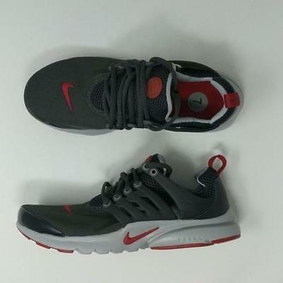 Nike Presto GS Youth Size Shoe Anthracite Gym Red Wolf Grey Running 833875  005 8f261961d