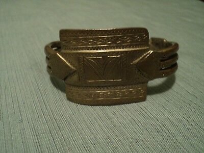 Antique Moroccan Bracelet: Early to Mid 20th Century: Morocco