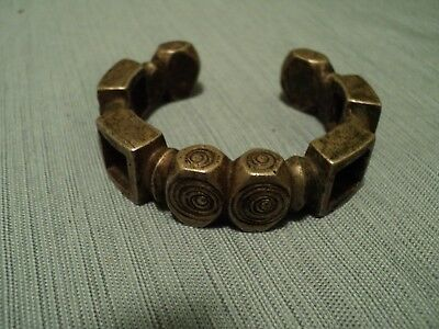 Antique Moroccan Bracelet: Morocco: Early to Mid 20th Century