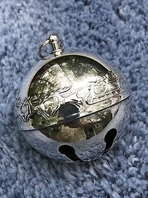 1972 Wallace Silversmith Silver Plated Sleigh Bell