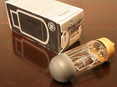 GE DAY/DAK 120V 500W Halogen Projector Lamp, Made in U.S.A. New