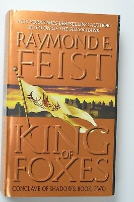 Raymond E. Feist King Of Foxes Book 2 - Fantasy Paperback Book J-T-P