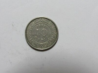 Old Suriname Coin - 1962 10 Cents - Circulated