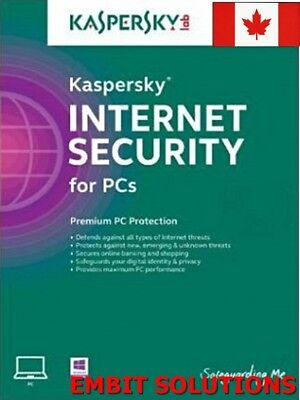 Kaspersky Internet Security 2018 2019 1 PC / 1 User / 1 Year / Download ESD