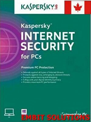 Kaspersky Internet Security 2019 1 PC / 1 User / 1 Year / Download ESD