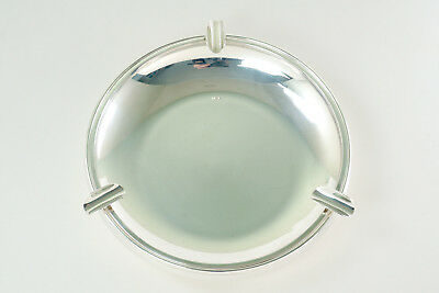 Vintage Mid-Century Modern Sterling Silver 925 Ashtray 280g