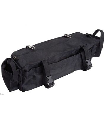 Cantle Bag Plus - Nylon with Zipper & 2 additional pockets - NEW - IMP USA