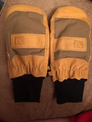 Flylow Unicorn Oven Mittens XL Unisex Men's Women's Ski Glove NWOT X-LARGE