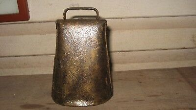 Antique Cow Bell Kentucky Shape With Texas Flare
