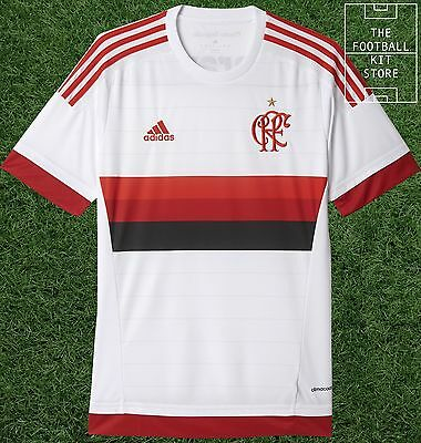 Flamengo Away Shirt  - Official adidas Rare Brazil Football Jersey - All Sizes
