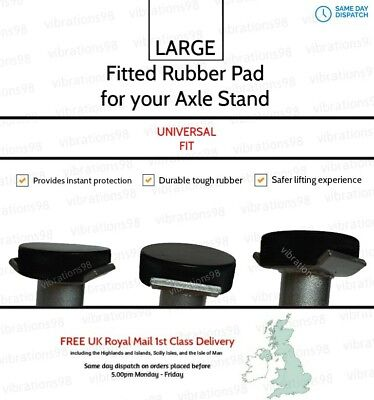 Universal Fitted Rubber Axle Stand Pad + FREE 1st Class Delivery included