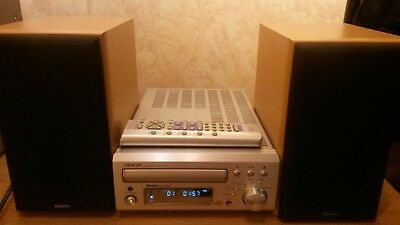 Denon UD-M30 Receiver Amplifier CD Player Speakers Remote Control.