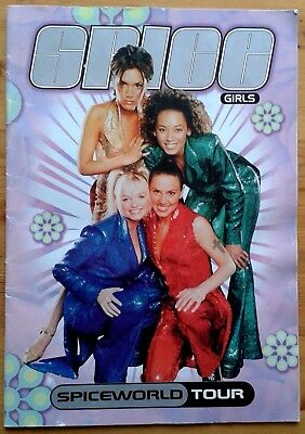 Spice Girls Spiceworld Tour large programme 1998