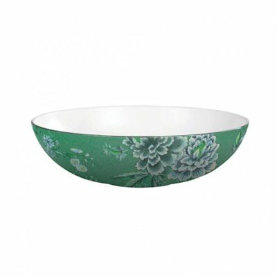NEW Wedgwood Jasper Conran Chinoiserie Green Oval Open Serving Dish 30cm