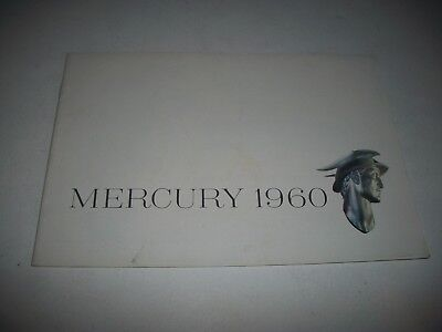 1960 Mercury Sales Brochure Monterey Montclair Parklane Convertible Wagons
