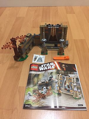 LEGO Star Wars 75139 - Battle On Takodana Fotress (No Figures What You See Only)