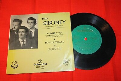 disco vinilo trio siboney años 50