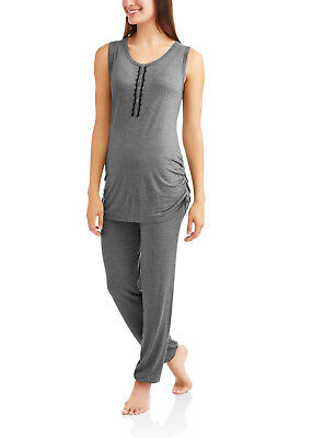 Nurture by Lamaze Maternity Nursing Sleeveless Top and Pants Sleep Set