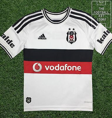 Besiktas Home Shirt - Official Adidas Boys Turkish Football Shirt - All Sizes