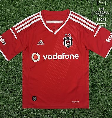 Besiktas Third Shirt - Official Adidas Boys Turkish Football Shirt - All Sizes