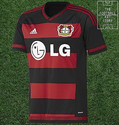 Bayer 04 Leverkusen Home Shirt - Official adidas Boys Football Shirt - All Sizes