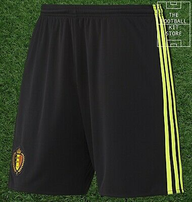 Belgium Home Shorts - Official adidas Mens Football Shorts - All Sizes