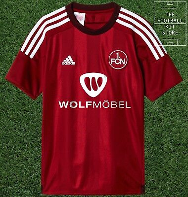 Nurnberg Home Shirt - official adidas Boys FCN Football Jersey - All Sizes