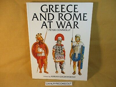 ' Greece and Rome at War ' by Peter Connolly 2016 Large Paperback