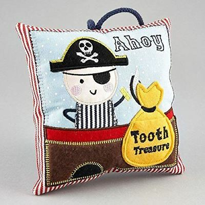 Pirate Hanging Tooth Fairy Cushion Pillow With Money Slot By Floss & Rock