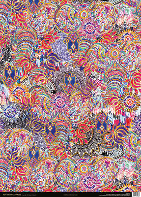 1 Sheet of Luxury Jaipur Jem Gift Wrap Wrapping Paper Museums & Galleries