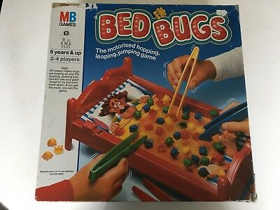 Bed Bugs Board Game 1997 Mb Games 10 00 Picclick Uk