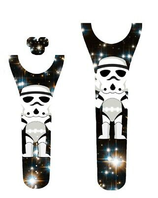 For Disney Magic Band 2 Decal Stickers Star Wars Inspired Storm Trooper Inspired
