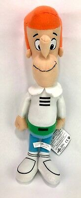 """Toy Factory George Jetson 18"""" Stuffed Plush Doll, Toy NEW with Tags"""