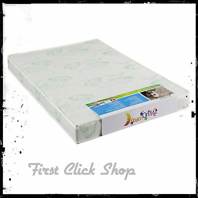 "Playard Mattress 3"" White Antibacterial With Waterproof Cover Reinforced Comfort"