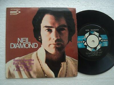 NEIL DIAMOND - Sweet Caroline +3 - Rare SINGAPORE release EP