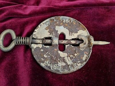 Wood Stove Cast Iron 6 inch champion Steel Pin Reversible