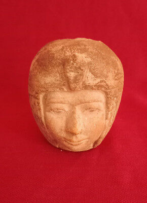 Rare Ancient Egyptian head of Mut 18th Dynasty Portrait pharonic antiques