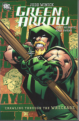 Green Arrow Volume 8 Crawling Through The Wreckage  SC TPB   NEW  OOP  20% OFF