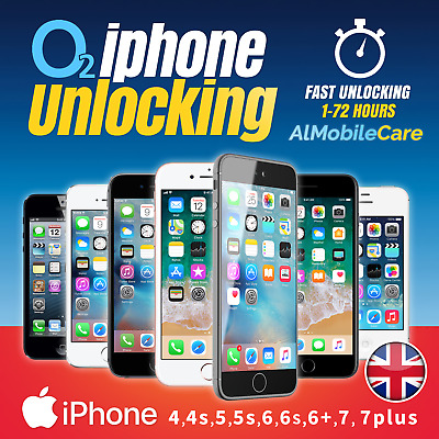 Unlock O2 Uk Tesco Uk Giffgaff Uk Iphone 4, 5, 6 & 7 Factory Unlock