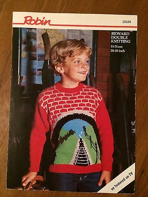 Thomas The Tank Engine And Friends Toy Dk Knitting Pattern 199