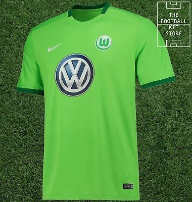 VFL Wolfsburg Home Shirt - Nike Football Jersey - Boys - All Sizes