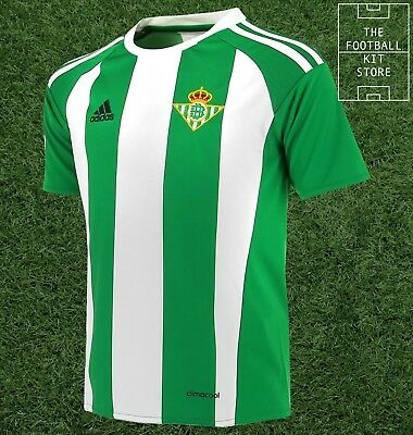 Real Betis Home Shirt - adidas Football Jersey - Boys - All Sizes